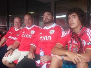 Papa, António Zé, Manu, Nuno